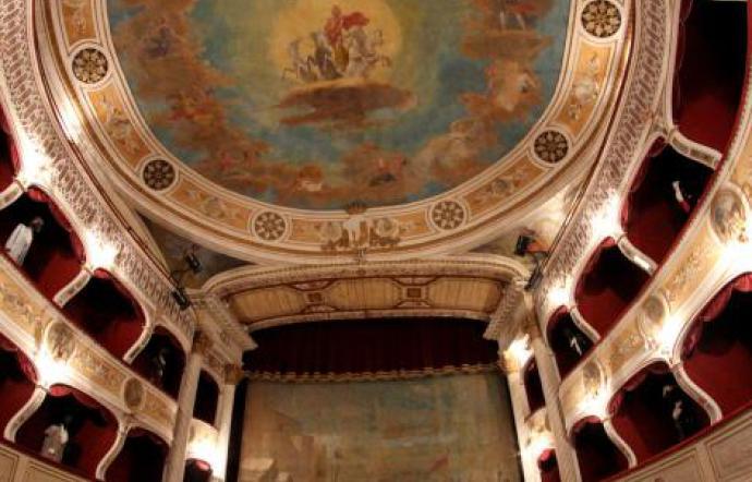 Il Teatro Regina Margherita a Racalmuto