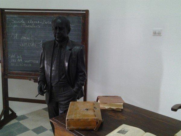 Un'immagine della classe in cui Sciascia insegnò a Racalmuto