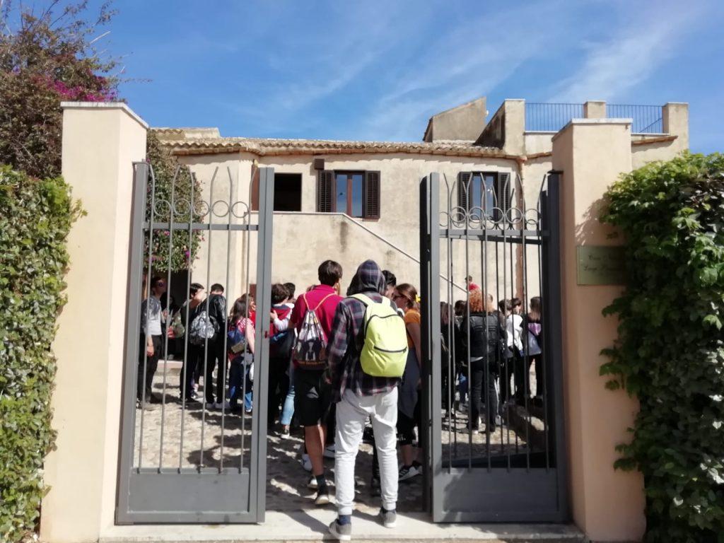 L'ingresso alla Casa natale di Luigi Pirandello