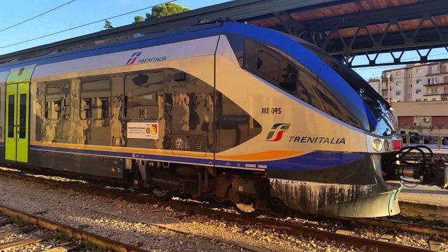 treno Agrigento-Palermo