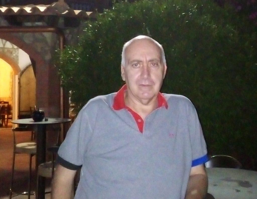 Il professor Vincenzo Caci, docente dell'Istituto Pirandello di Bivona